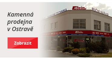 Kamenná prodejna ELVIN v Ostravě