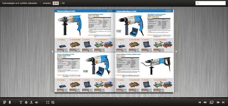Virtuální akční katalog Narex