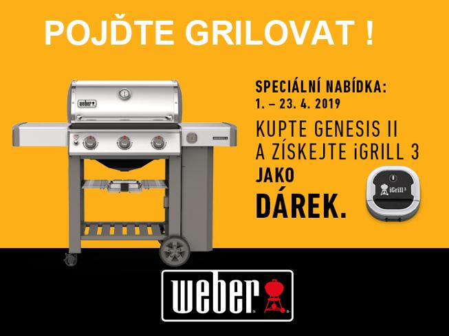 Akce Weber iGrill 3 zdarma jako dárek
