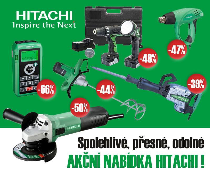 Akční podzimní nabídka nářadí Hitachi