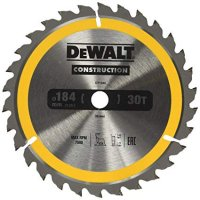 Dewalt DT1940 pilový kotouč  184x16mm, 30z CONSTRUCTION
