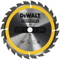 Dewalt DT1939 pilový kotouč CONSTRUCTION 184x16mm, 24z