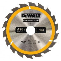 Dewalt DT1943 pilový kotouč  190x30mm, 18z CONSTRUCTION