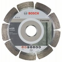 Bosch Dia kotouč Standard for Concrete 125 x 22,23 x 1,6 mm, 1ks