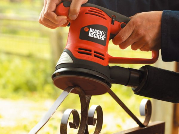 Black & Decker KA191EK excentrická bruska 125mm 480W