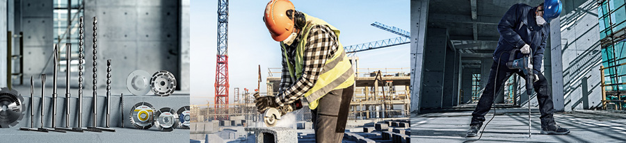 Buď produktivnější s příslušenstvím Bosch na stavbě