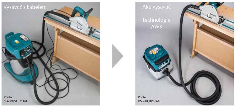 Rozdíl vysavání s kabelem a bez kabelu