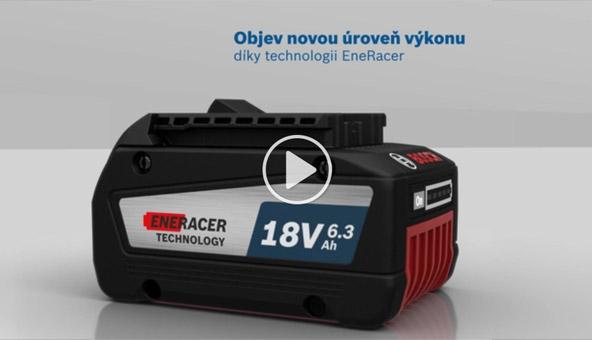 Video - Nový akumulátor Bosch GBA 18V 6,3 Ah