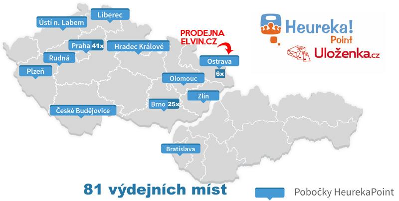 Výdejní místa Uloženka (Heureka Point)