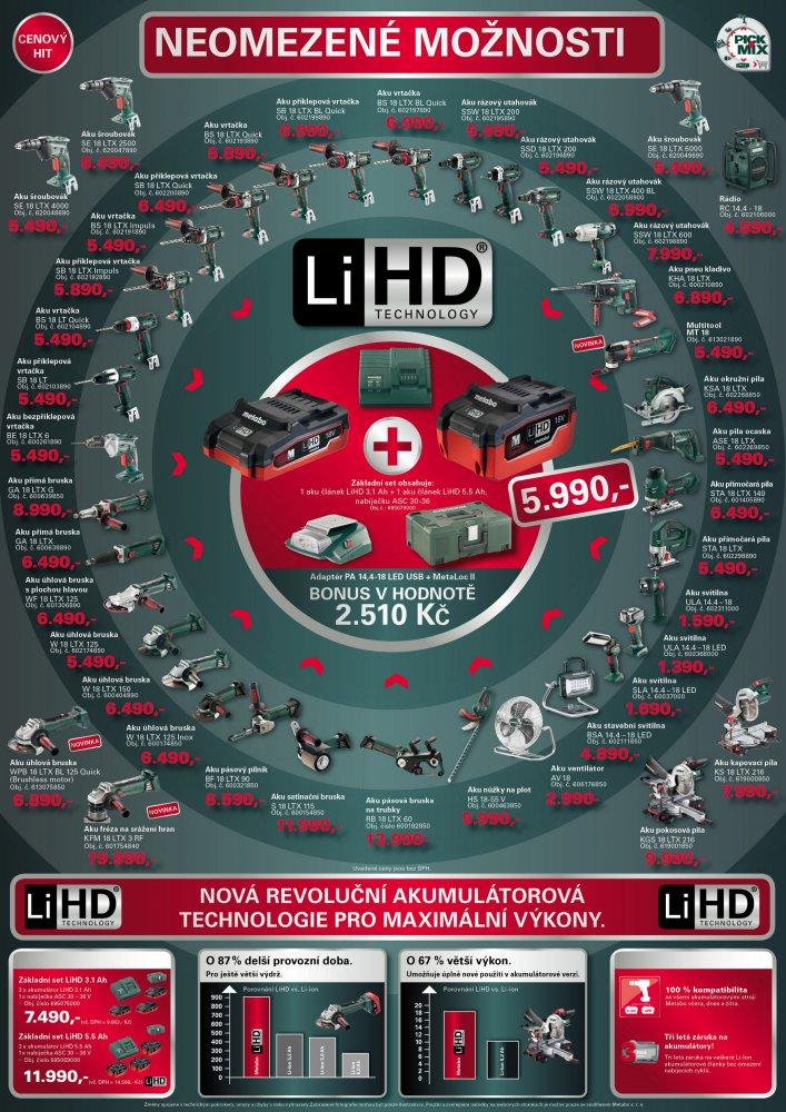 Aku nářadí Li-HD Metabo