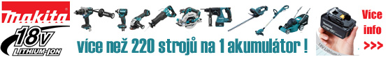 Makita aku program 18V LXT Li-ion