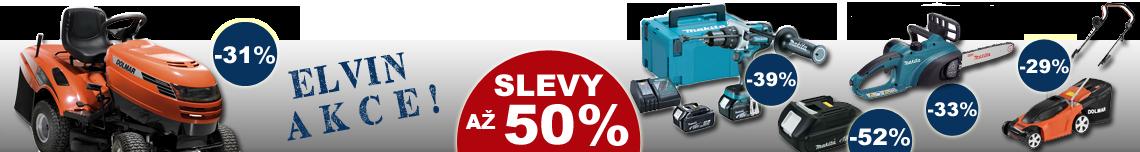 ELVIN AKCE - slevy až 50%