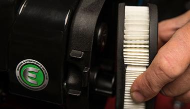 Kontrola vzduchového filtru