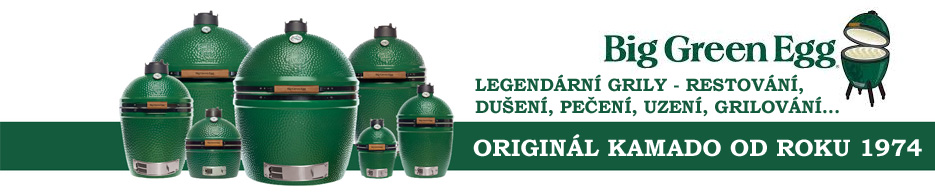 Legendární grily Big Green Egg od roku 1974