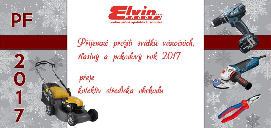 PF 2017 ELVIN PRODEJ s.r.o.