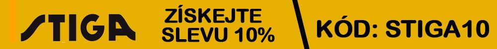 Získejte slevu 10% na zahradní techniku STIGA