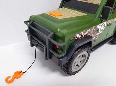 Terénní autíčko Dickey Toys Action Series Outland Patrol