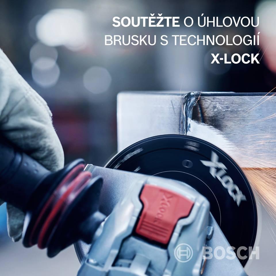 Soutěž o úhlovou brusku Bosch