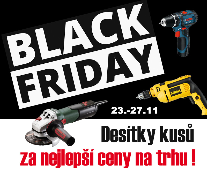 Black Friday 2017 na ELVIN.CZ