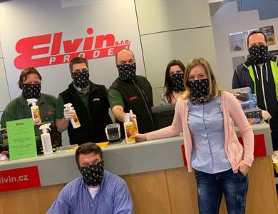 Opatření proti koronaviru na ELVIN.CZ
